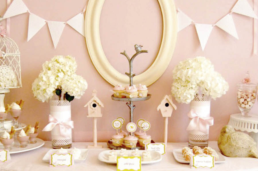 Baby shower event planner
