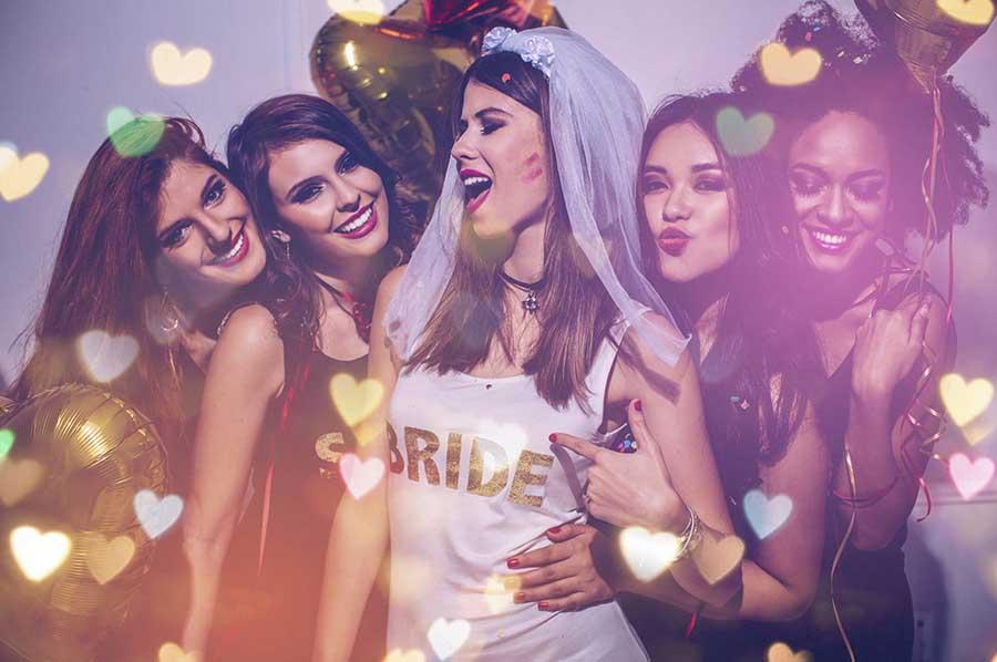 Bachelorette party in Ibiza