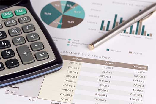 Budget planning services