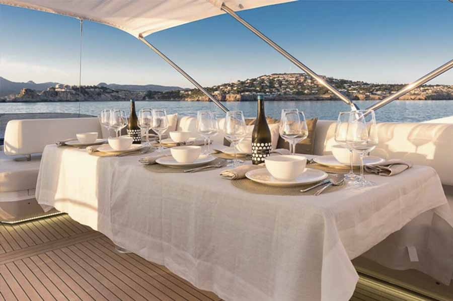 private event planning agency ibiza dinner boat