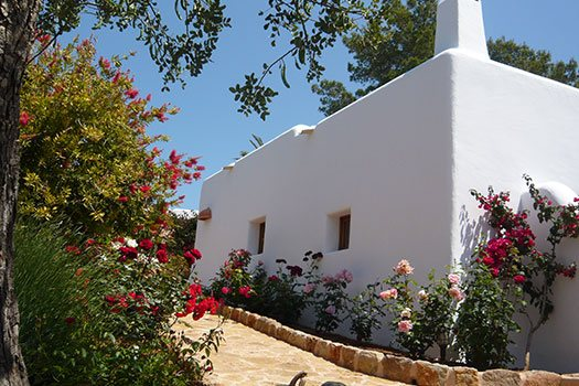 Rustic accomodation in Ibiza