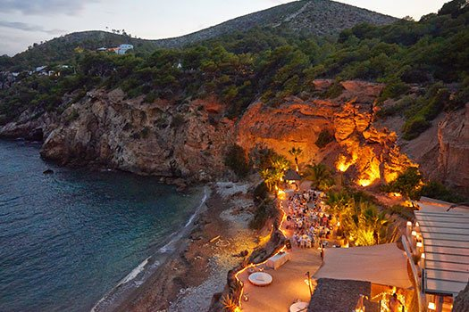 Seafront Beach Venue sourching Ibiza