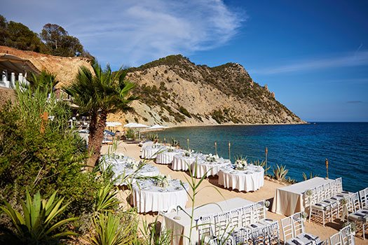 Beach Venue sourching Ibiza