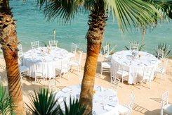 Beach front locations Ibiza planner