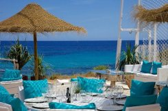Amazing beach location Ibiza, event management Ibiza